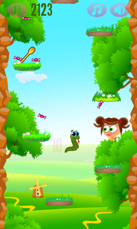 Running Snake- screenshot