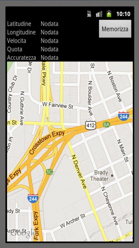 GpsPoint GPS points Survey - screenshot