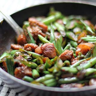 Stir Fried French Beans and Pork (Baguio Beans Guisado) Recipe