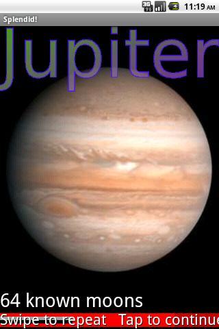 Sun, Moons and Planets- screenshot