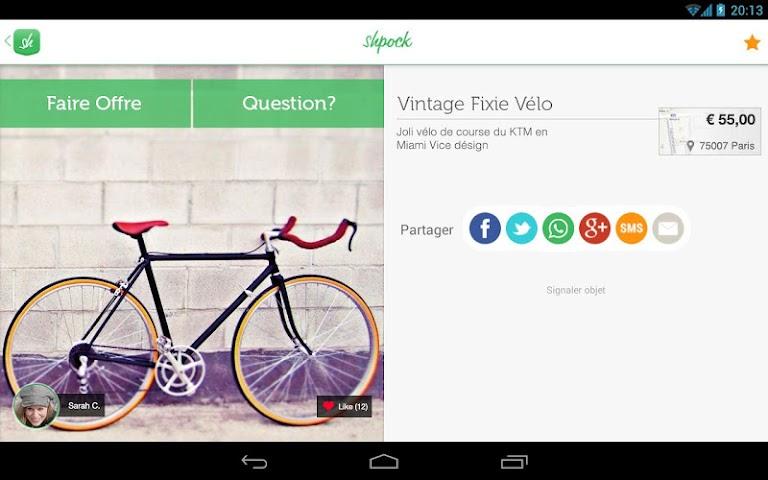 android Shpock Flohmarkt Kleinanzeigen Screenshot 7
