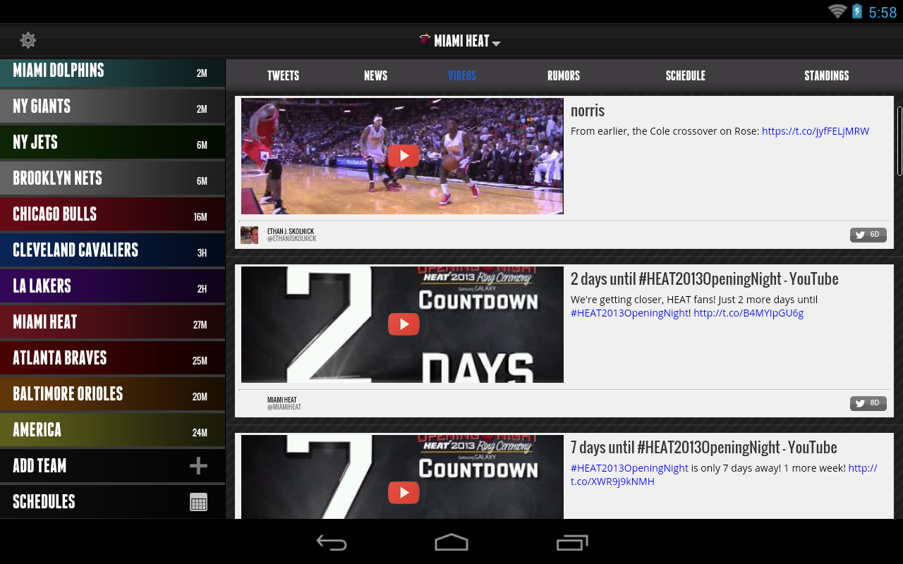 SportsManias: Sports News Feed - screenshot