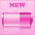 iPhone Pink Battery Widget logo