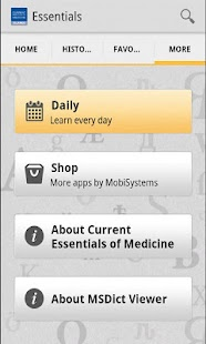 Current Essentials of Medicine - screenshot thumbnail