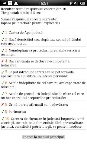 Teste Grilă - N.C.P.C.
