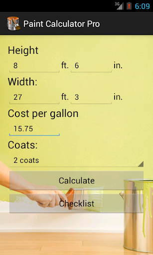 Paint Calculator Pro