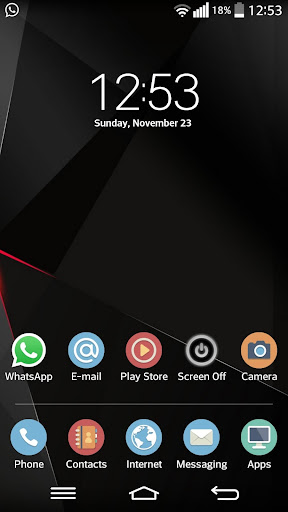 Theme for LG Home FancyCircle