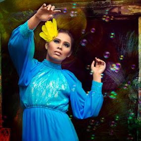#SLOTH by Li Yeenz - People Portraits of Women