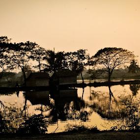 by Abhijit Pal - City,  Street & Park  Street Scenes (  )