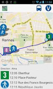 Transports Rennes- screenshot thumbnail