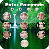 Passcode photo screen lock