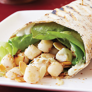 Scallop Po'Boy Wrap Panini