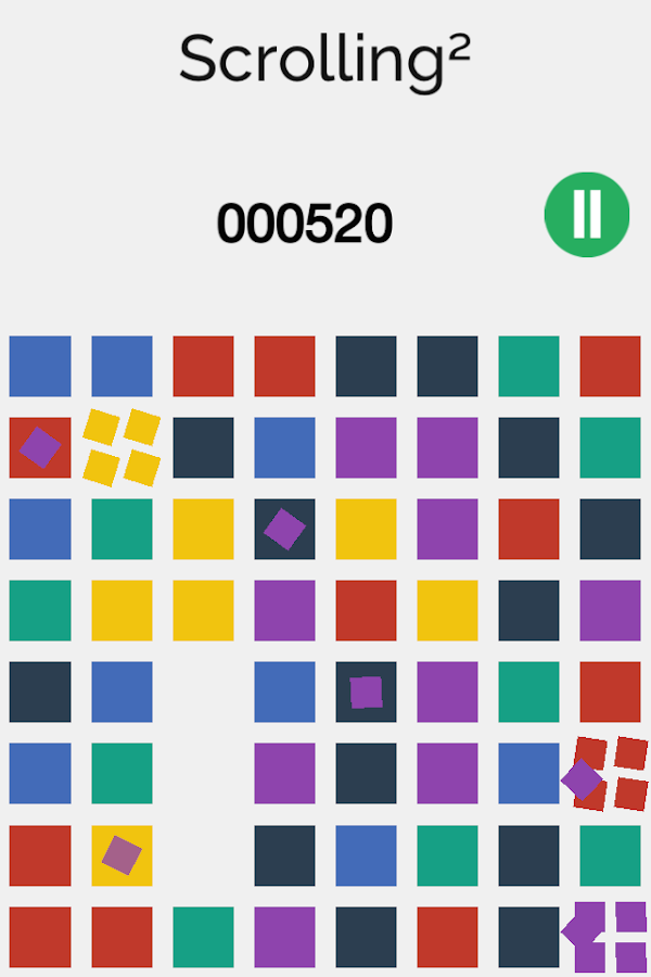 Scrolling² - Match three - screenshot
