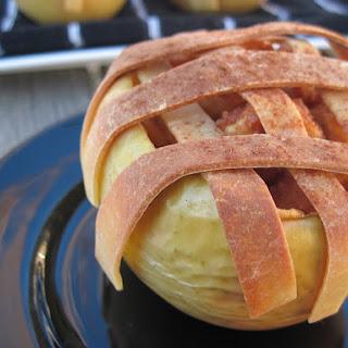 Thanksgiving Baked Apple Pie Apples.