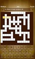 Screenshot of Crossworder