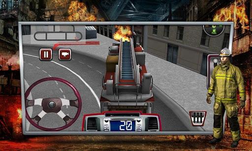 消防車シミュレータ3D|玩模擬App免費|玩APPs