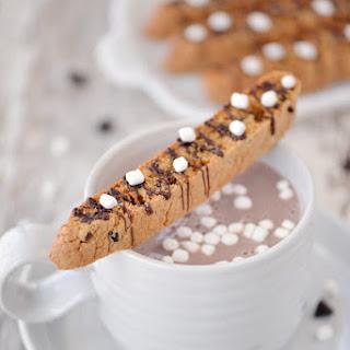 Chocolate Chip Marshmallow Biscotti
