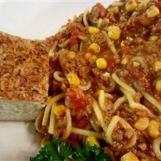 Dad's Spaghetti Soup.