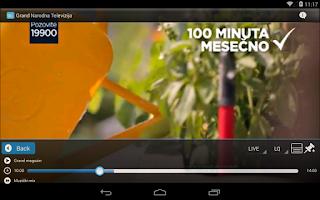 Screenshot of NetTV Plus
