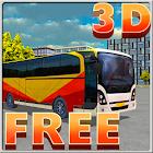 3D Bus Parking icon