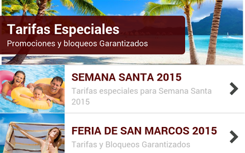 Viajes Global Travents screenshot 4