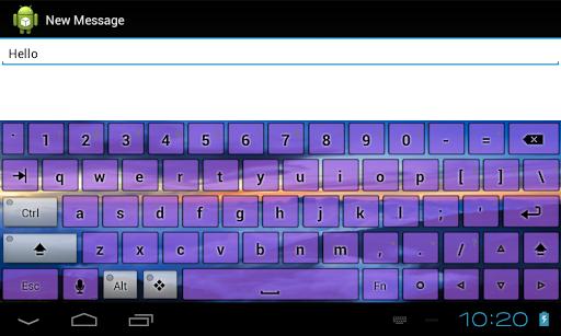 玩個人化App 森林自然主题键盘免費 APP試玩