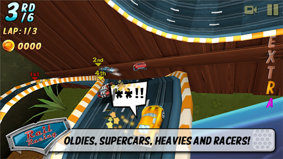 Rail Racing- screenshot thumbnail