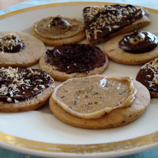 Coffee Shortbread with Many Options