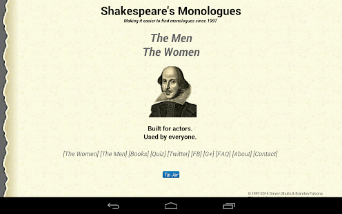 Shakespeare's Monologues-NoAds- screenshot thumbnail