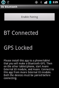 Bluetooth GPS For Avare- screenshot thumbnail
