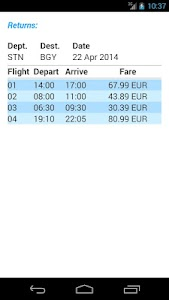 Ryan Flight Fare Watch screenshot 23