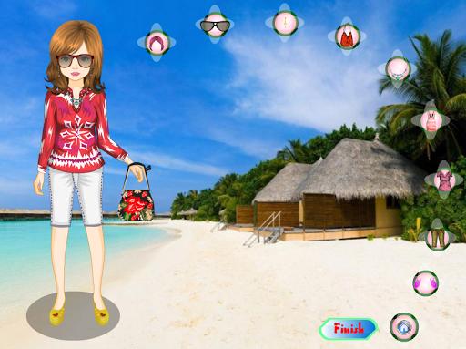 Игра Exotic girl - Dress up для планшетов на Android