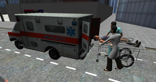 Игра Ambulance Parking 3D Extended для планшетов на Android