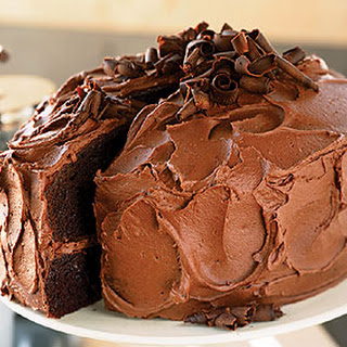 Devil's Food Cake with Chocolate-Orange Buttercream