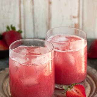 A Delectable Cocktail with Strawberries and Coconut Water Recipe