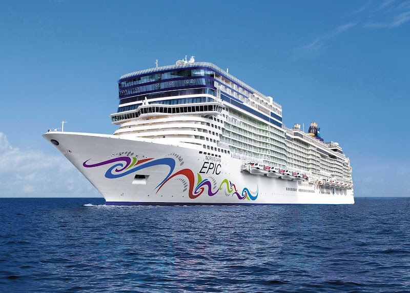 Norwegian Epic sails in the Caribbean in winter and Mediterranean in summer.