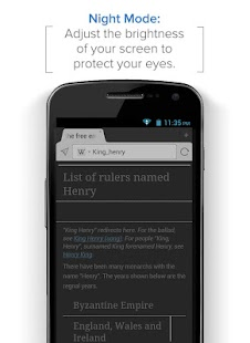 Maxthon Android Web Browser - screenshot thumbnail