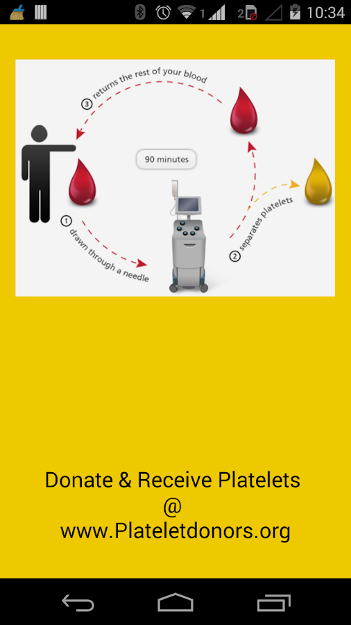 Platelet Donors- screenshot