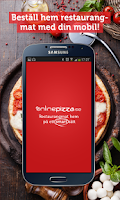Screenshot of OnlinePizza food delivery app