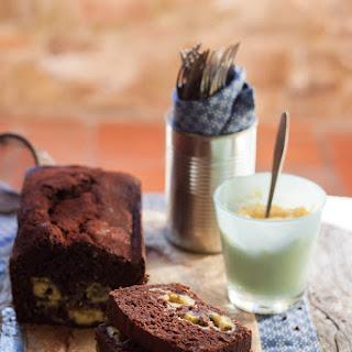 Cocoa Pound Cake With Swirls Of Lemon Custard