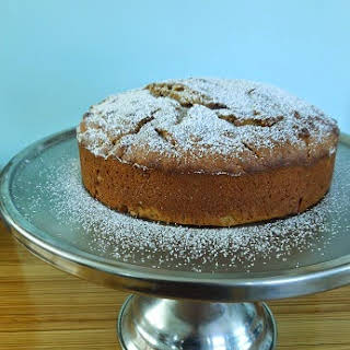 Maple Walnut Pumpkin Cake.