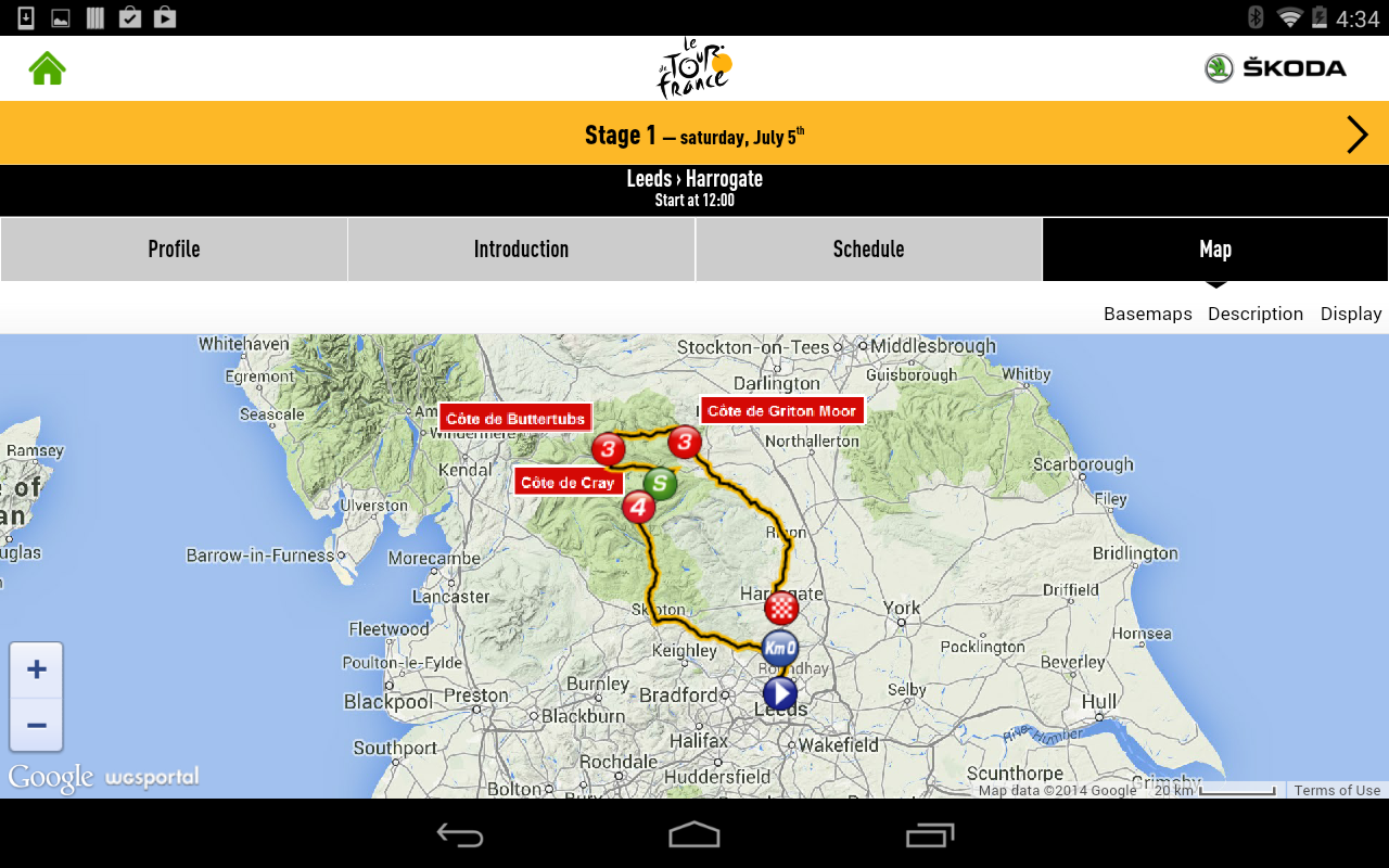 TOUR DE FRANCE 2014 by ŠKODA - screenshot