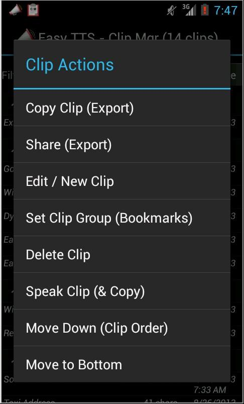 Easy Text To Speech Pro- screenshot