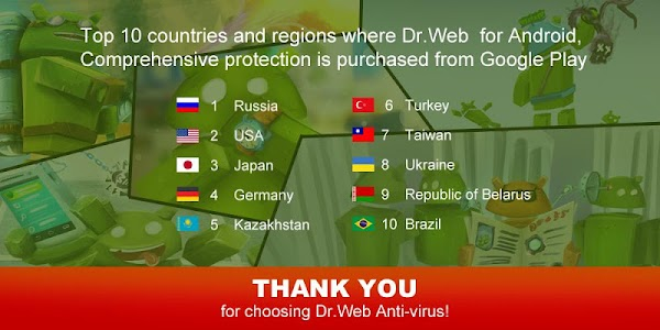 Anti-virus Dr.Web Light v9.00.5