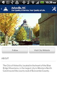 The Asheville App - screenshot thumbnail