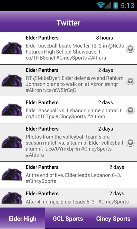 EHS Mobile Sports- screenshot