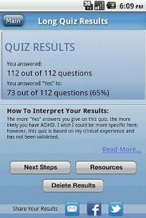 ADHD Quiz
