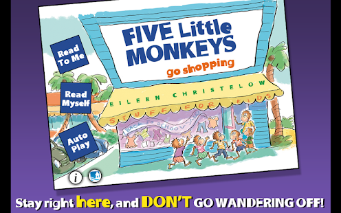 5 Monkeys Go Shopping - screenshot thumbnail