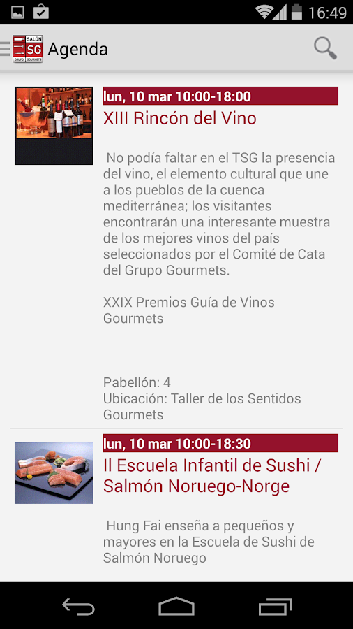 Salón de Gourmets - screenshot