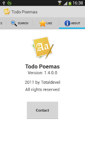 Todo Poemas Free (Spanish) - screenshot thumbnail
